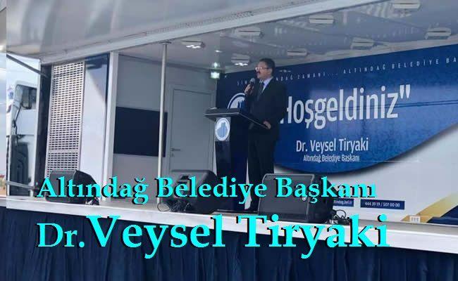 Altındağ Belediye Başkanı Veysel Tiryaki Karacaören Spor Tesisi Açılış Konuşması