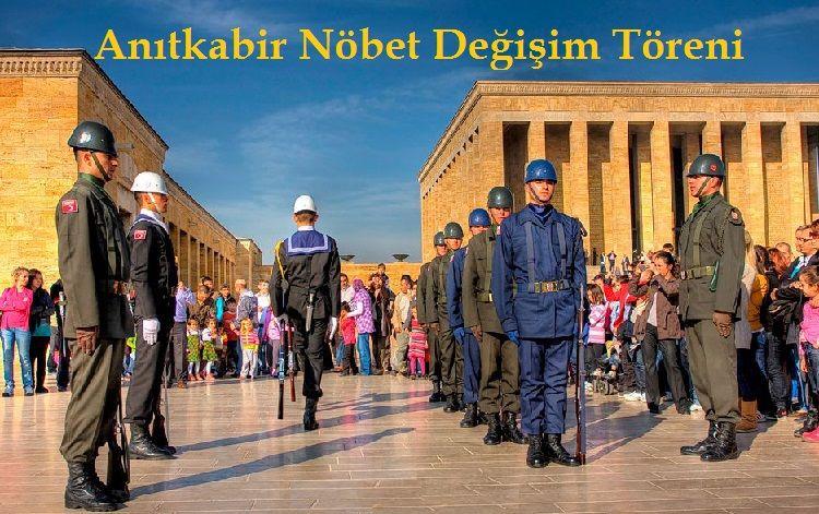 Anıtkabir Asker Nöbet Değişim Töreni