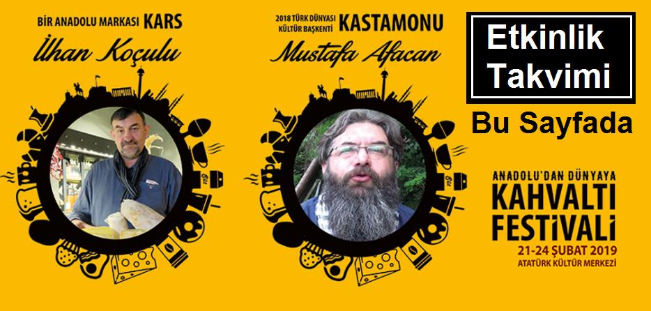 Ankara Kahvaltı Festivali Etkinlik Takvimi, Mustafa Afacan, İlhan Koçulu Bir Anadolu Masalı