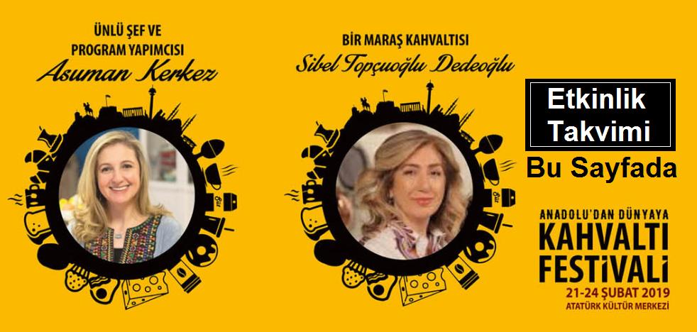 Ankara Kahvaltı Festivali Etkinlik Takvimi Asuman kerkez Türkolog Sibel Topçuoğlu Dedeoğlu