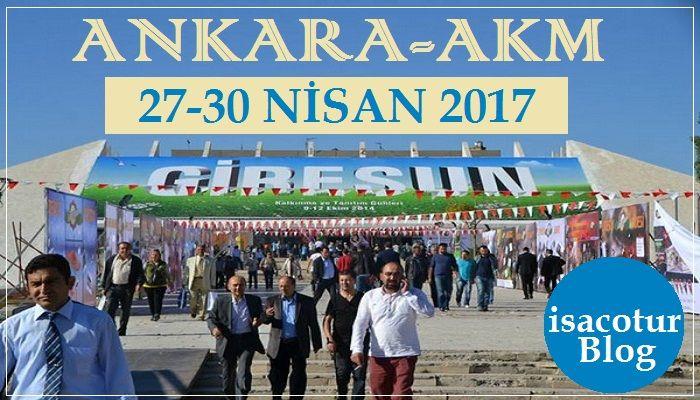 Ankara Akm Giresun Günleri