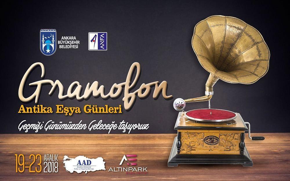 "Ankara ""Antika Eşya Günleri"" Gramofon"