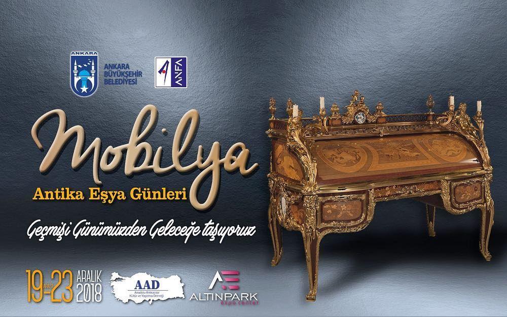 "Ankara ""Antika Eşya Günleri"" mobilya"