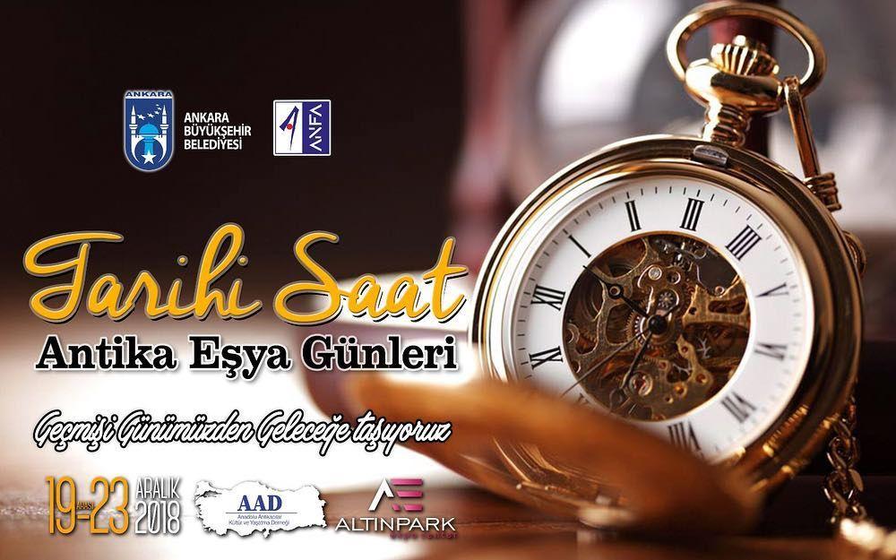 """Ankara """"Antika Eşya Günleri"""" tarihi saat"""