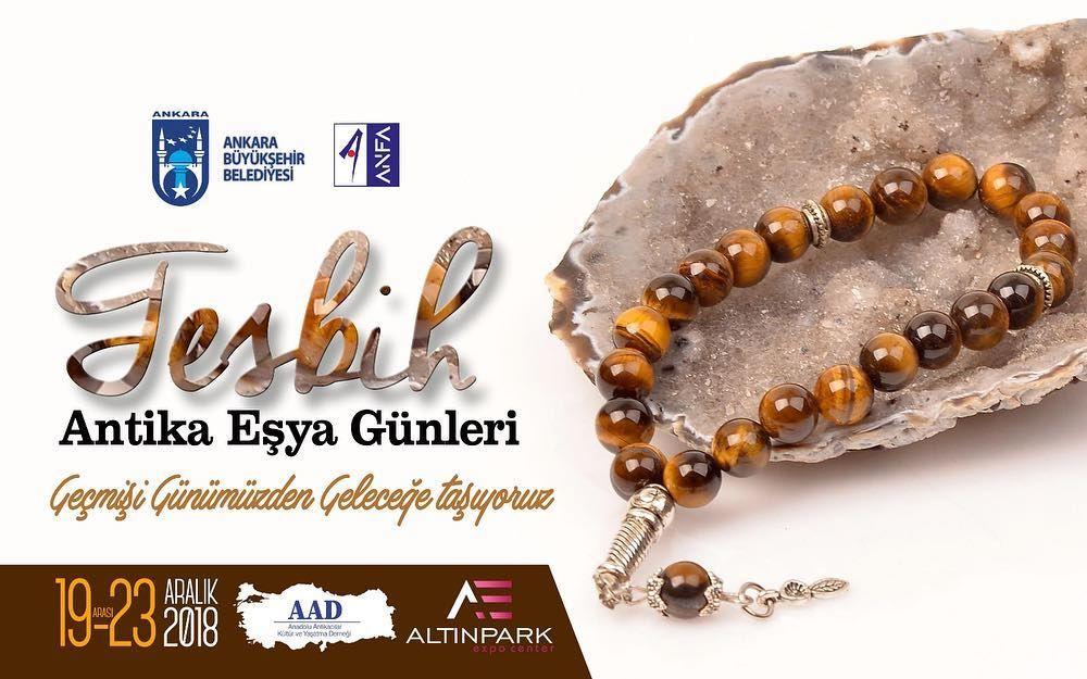 """Ankara """"Antika Eşya Günleri"""" tesbih"""