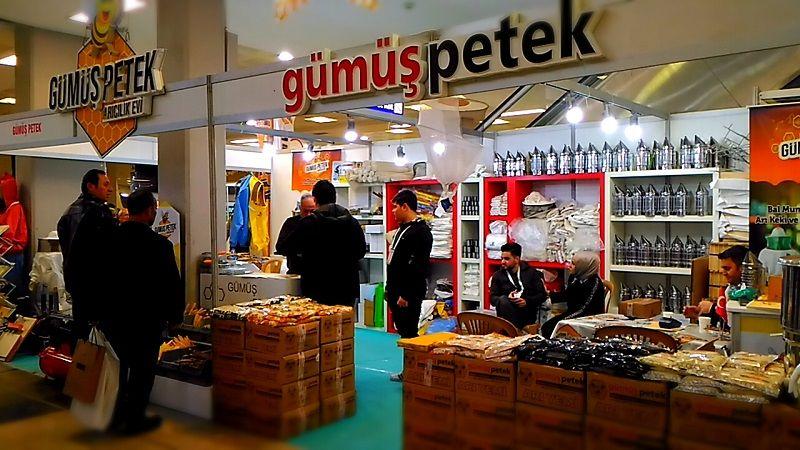 4.Armasad Türkiye Arıcılık Fuarı 2018 Resimleri Gümüş Petek