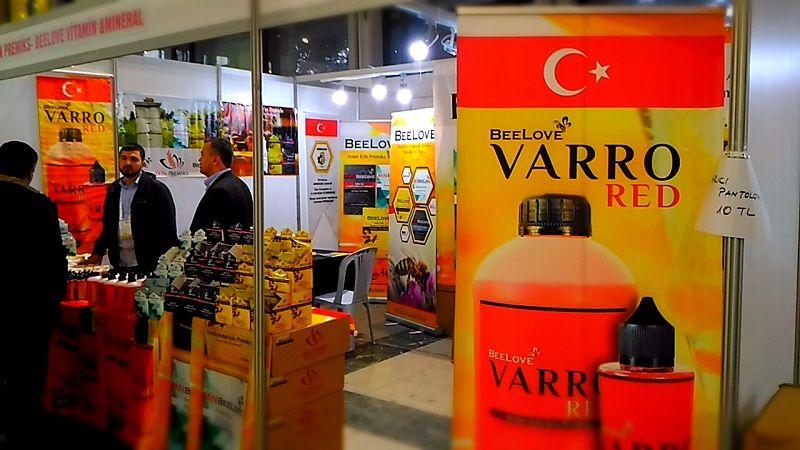 4.Armasad Türkiye Arıcılık Fuarı 2018 Resimleri BeeLove Varro Red