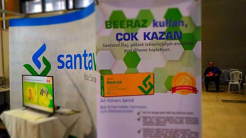 4.Armasad Türkiye Arıcılık Fuarı 2018 Resimleri Santavet