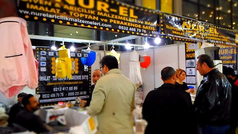 4.Armasad Türkiye Arıcılık Fuarı 2018 Resimleri Nur-el arıcılık malzemleri