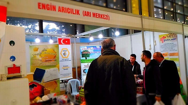 4.Armasad Türkiye Arıcılık Fuarı 2018 Resimleri Engin Arıcılık