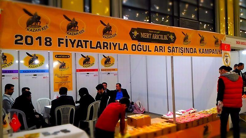 4.Armasad Türkiye Arıcılık Fuarı 2018 Resimleri mert arıcılık