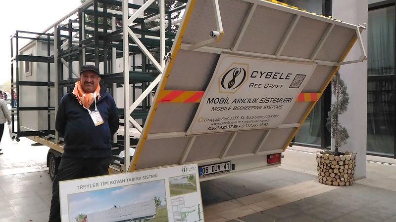 4.Armasad Türkiye Arıcılık Fuarı 2018 Resimleri CYBELE mobil arıcılık sistemleri