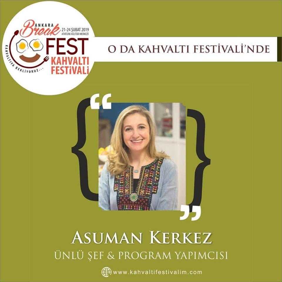 Asuman Kerkez ile Tadında Hikayeler Ankara Kahvaltı Festivali Etkinlik Takvimi 24 Şubat 2019