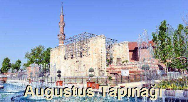 """Ankara'da Gezilecek Yerler """"Augustus Tapınağı"""""""