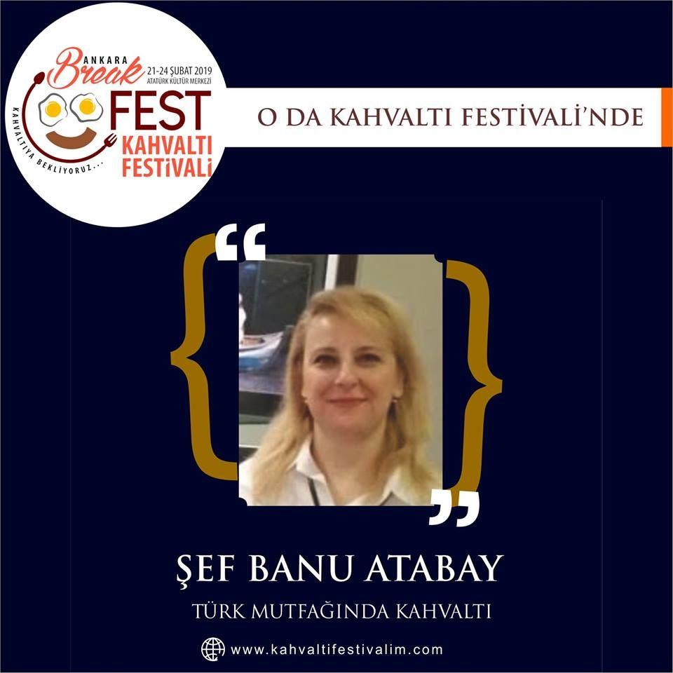 Ankara Kahvaltı Festivali Etkinlik Takvimi Şef Banu Atabay