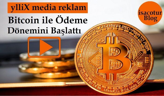 YlliX Media Reklam Bitcoin Ödeme Dönemini Başlattı