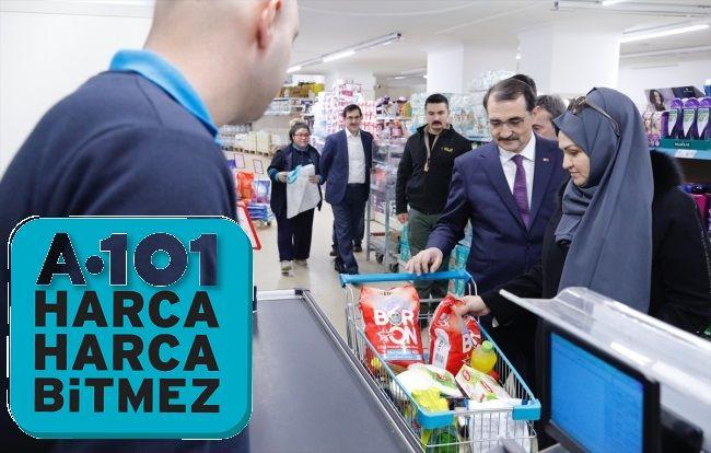 Boron DeterjanıSatın Alan İlk Bakan Fatih Dönmez A101 market