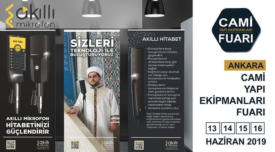 Cami Yapı Ekipmanları Fuarı Katılımcı Firma Akıllı Mikrofon
