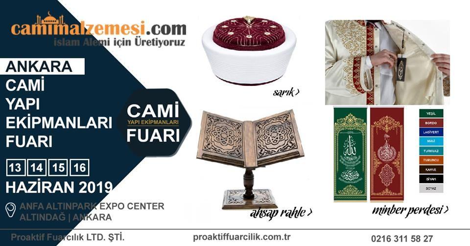 Cami Yapı Ekipmanları Fuarı Katılımcı Firma Cami Malzemeleri