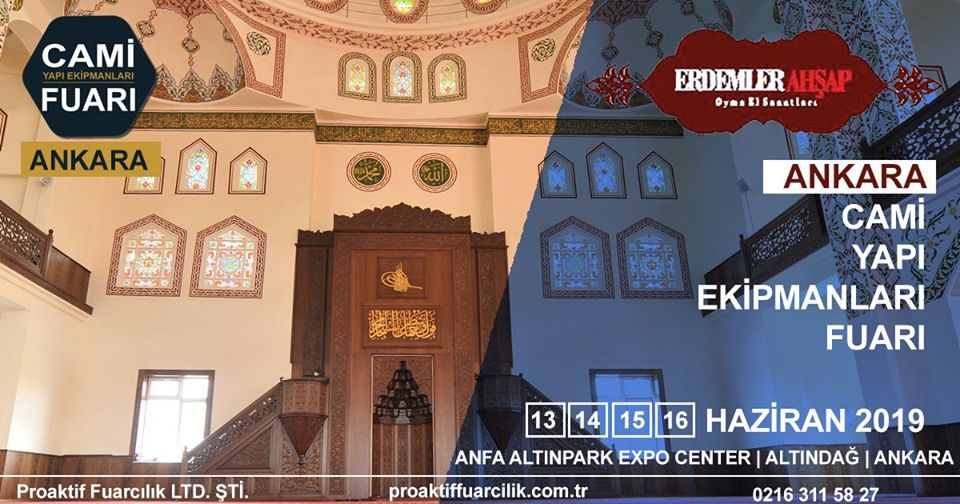 Cami Yapı Ekipmanları Fuarı Katılımcı Firma Erdemler Ahşap