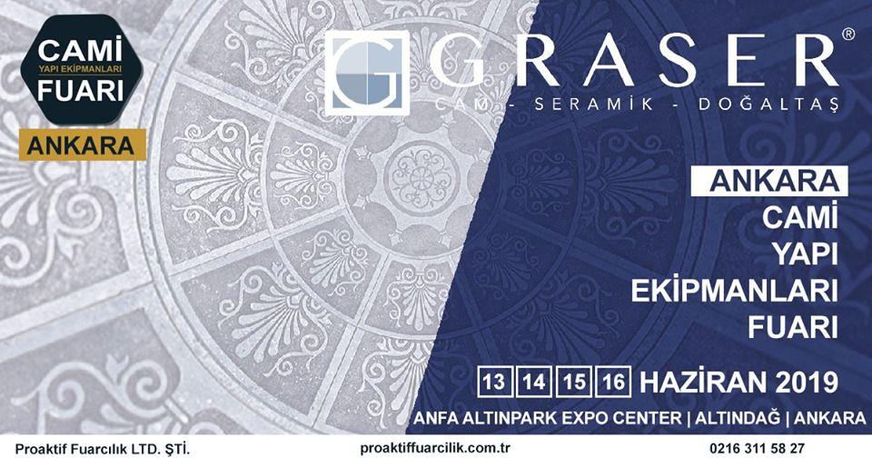 Cami Yapı Ekipmanları Fuarı Katılımcı Firma Graser Seramik