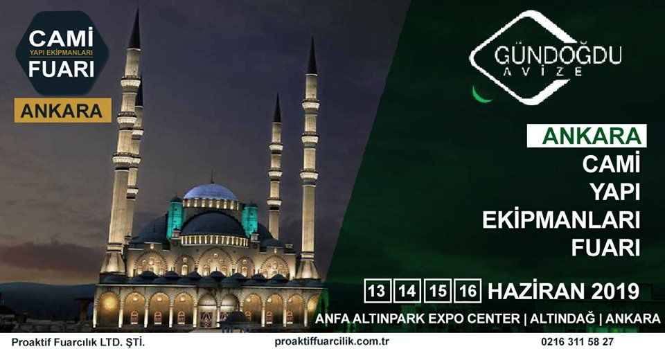 Cami Yapı Ekipmanları Fuarı Katılımcı Firma Gündoğdu Avize