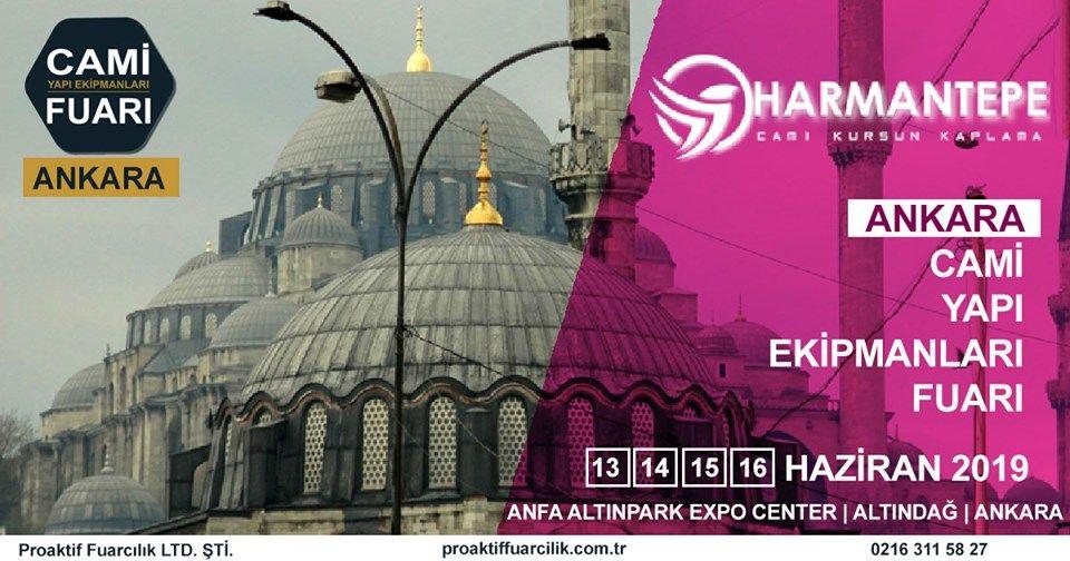 Cami Yapı Ekipmanları Fuarı Katılımcı Firma Harmantepe Kaplama
