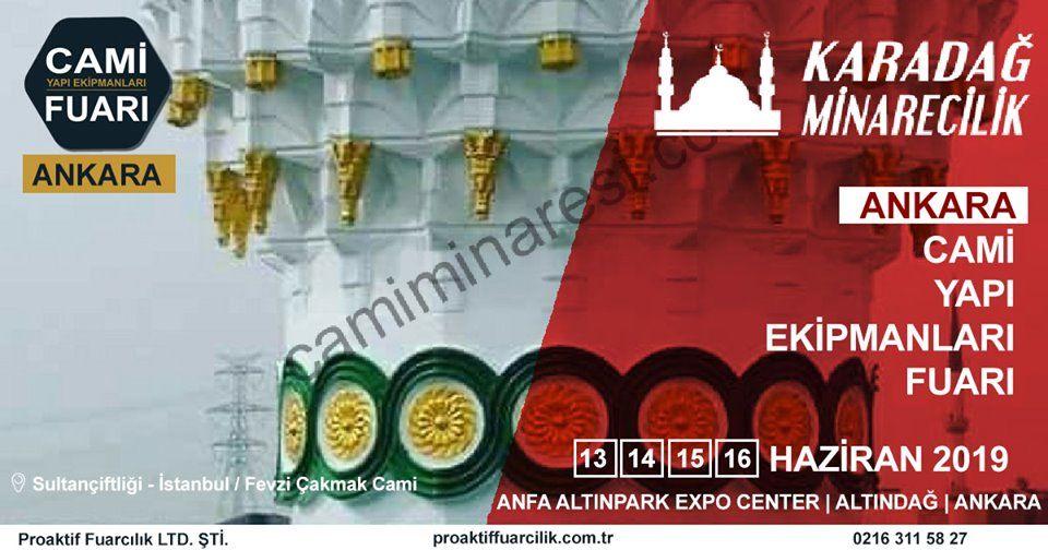 Cami Yapı Ekipmanları Fuarı Katılımcı Firma Karacadağ Minarecilik