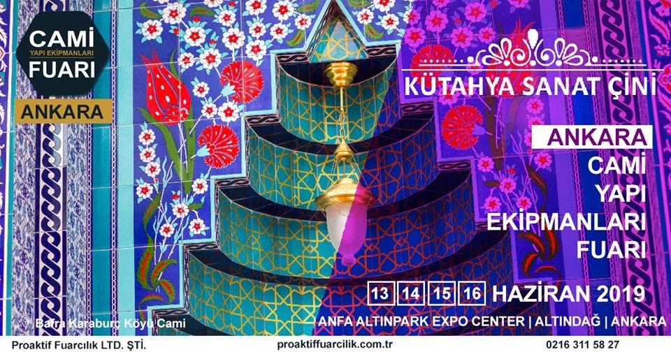 Cami Yapı Ekipmanları Fuarı Katılımcı Firma Kütahya Sanat Çini