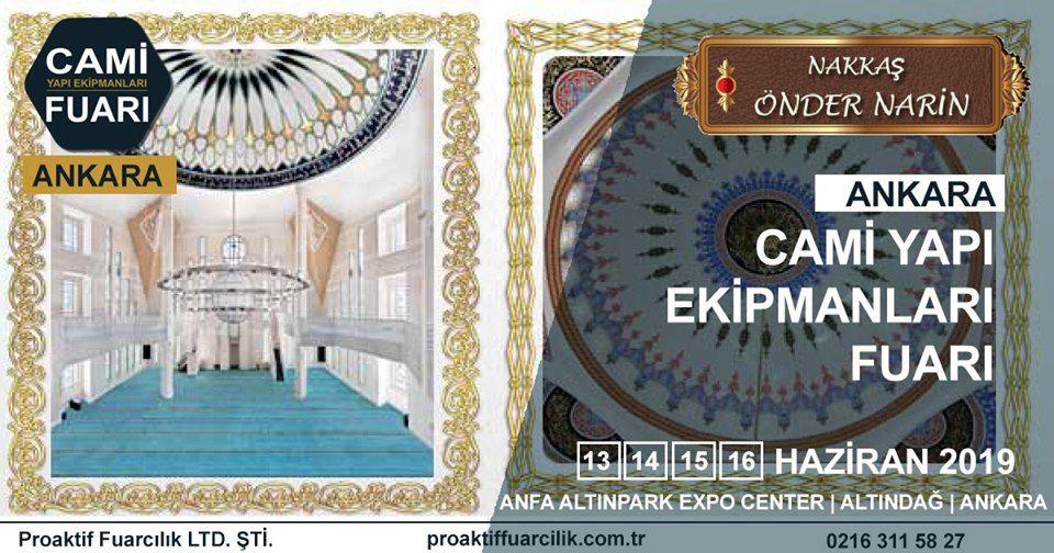 Cami Yapı Ekipmanları Fuarı Katılımcı Firma Nakkaş Önder Narin