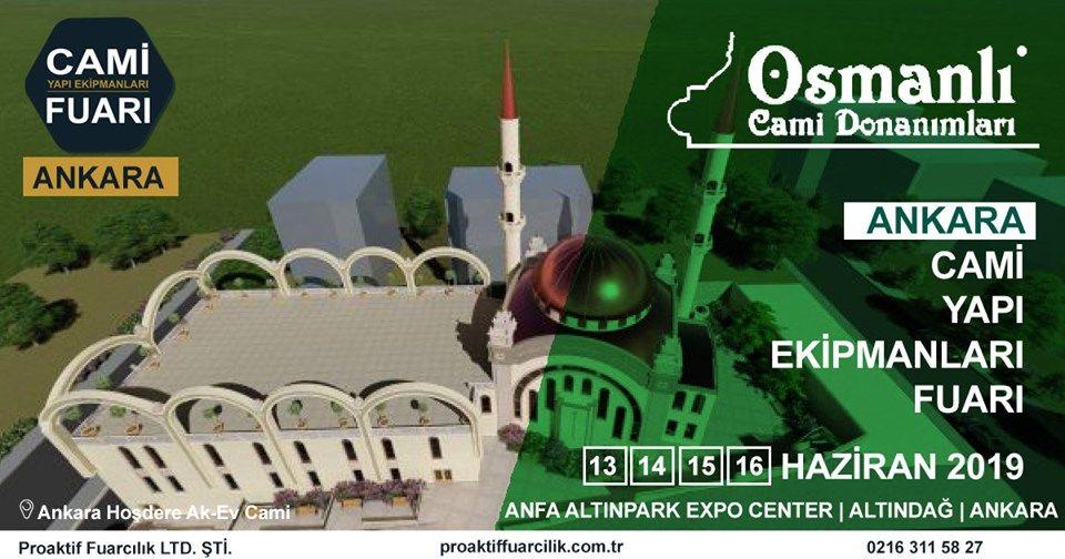 Cami Yapı Ekipmanları Fuarı Katılımcı Firma Osmanlı Cami Donanımları