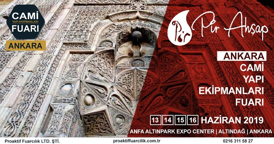 Cami Yapı Ekipmanları Fuarı Katılımcı Firma Pir Ahşap