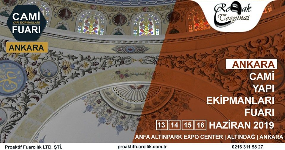 Cami Yapı Ekipmanları Fuarı Katılımcı Firma Revak Tezyinat