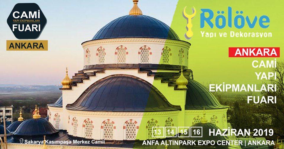 Cami Yapı Ekipmanları Fuarı Katılımcı Firma Rölöve Yapı Dekorasyon