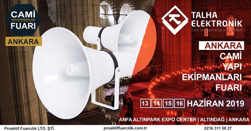 Cami Yapı Ekipmanları Fuarı Katılımcı Firma Talha Elektronik