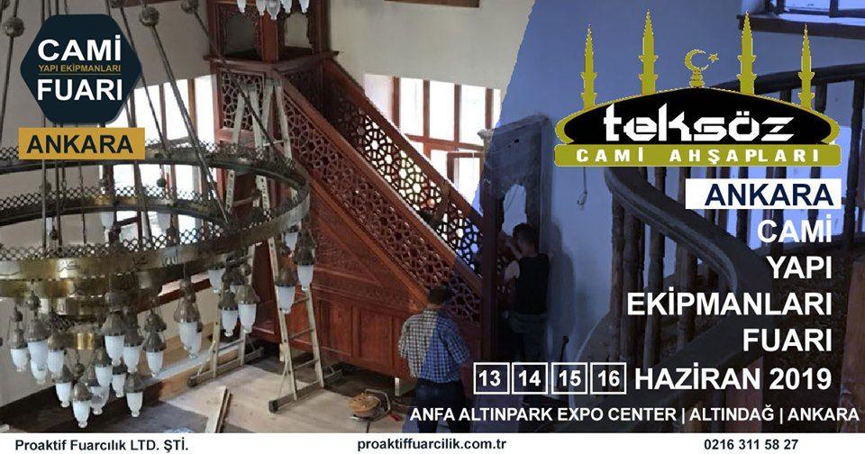 Cami Yapı Ekipmanları Fuarı Katılımcı Firma Teksöz Cami Ahşapları