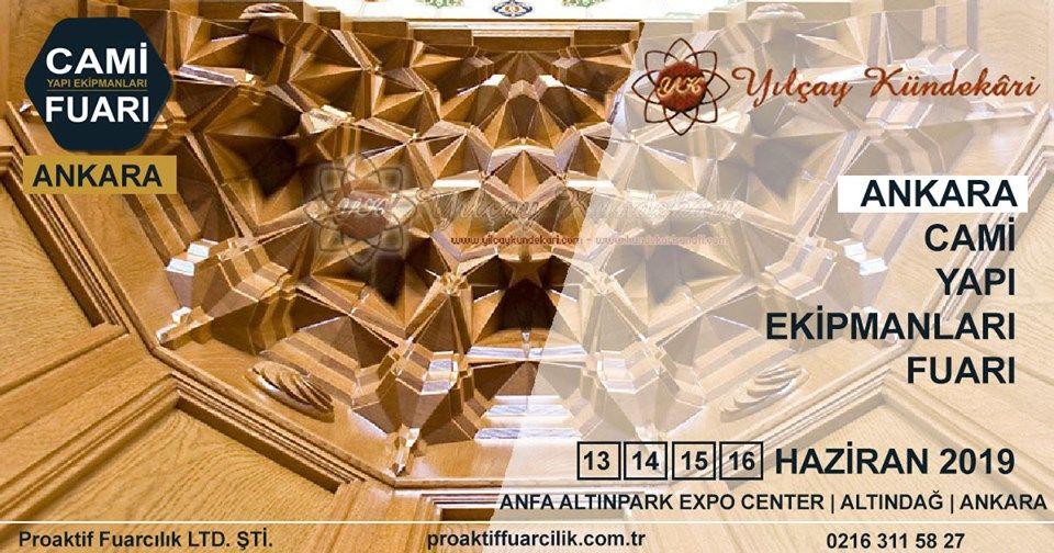 Cami Yapı Ekipmanları Fuarı Katılımcı Firma Yılçay Kündekari