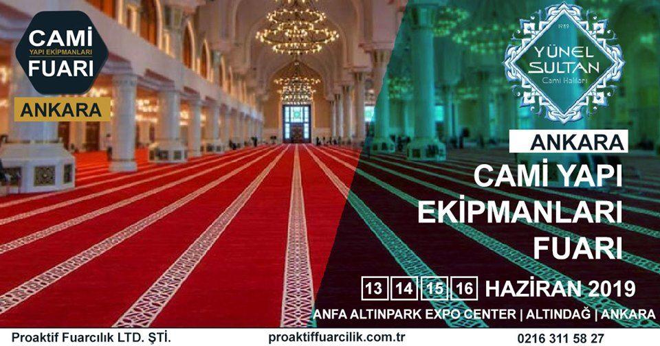 Cami Yapı Ekipmanları Fuarı Katılımcı Firma Yünel Halı