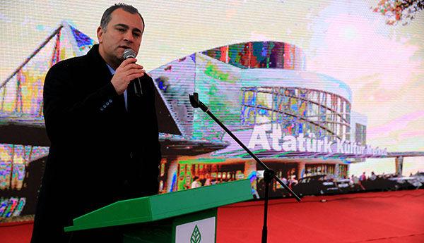 Çankaya Belediyesinin Yaptığı Atatürk Kültür Merkezi