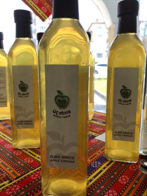 Çankırı Yöresel Ürünler Pazarı, üç elma doğal tarım sirkesi