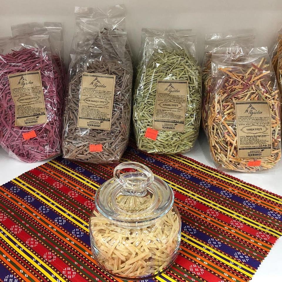 Çankırı Yöresel Ürünler Pazarı, ılgaz sebzeli erişte