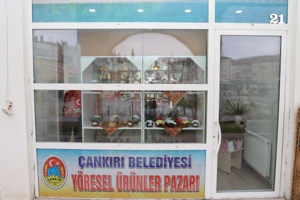 """Yeni Satış Noktamız """" Çankırı Belediyesi Yöresel Ürünler Pazarı """""""