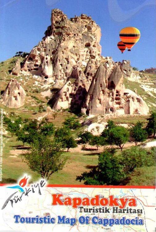 Kapadokya Turizm Haritası