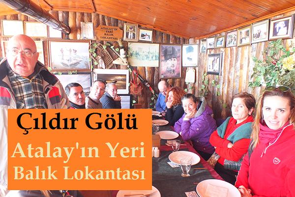 Çıldır Gölü Atalay'ın Balık Lokantası İletişim
