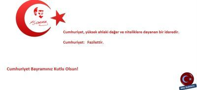 Cumhuriyet Bayramı İntrosu