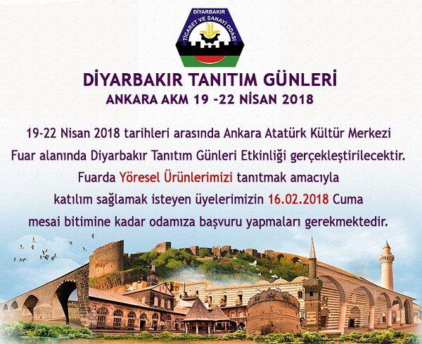 Diyarbakır Tanıtım Günleri 2018