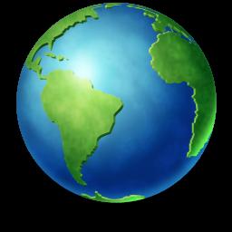 Dünya logosu saydam png