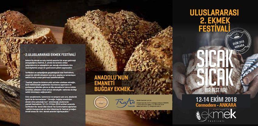 Uluslararası 2. Ekmek Festivali 2018 Cer Modern Ankara
