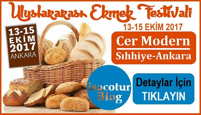 Uluslararası Ekmek Festivali Ankara Cer Modern