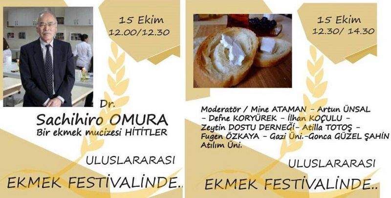 Dr.Sachihiro Omura ile bir ekmek mucizesi Hititler